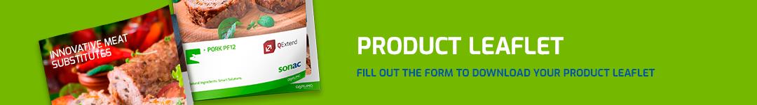 Product leaflet QExtend Pork PF12